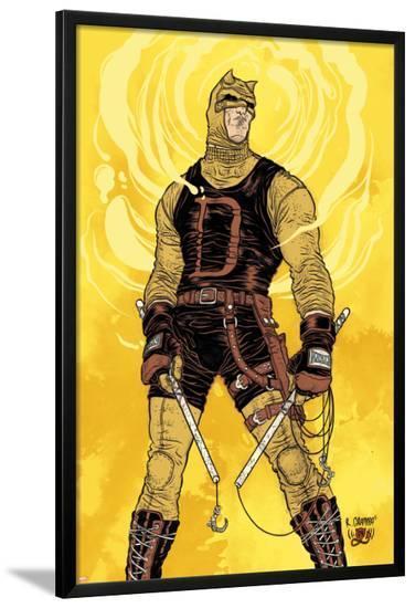 Daredevil No.500: Daredevil-Rafael Grampa-Lamina Framed Poster