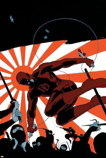 Daredevil No.505 Cover: Daredevil-Paolo Rivera-Art Print