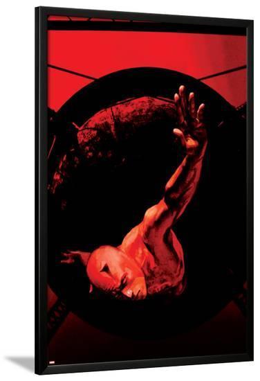 Daredevil No.58 Cover: Daredevil-Alex Maleev-Lamina Framed Poster