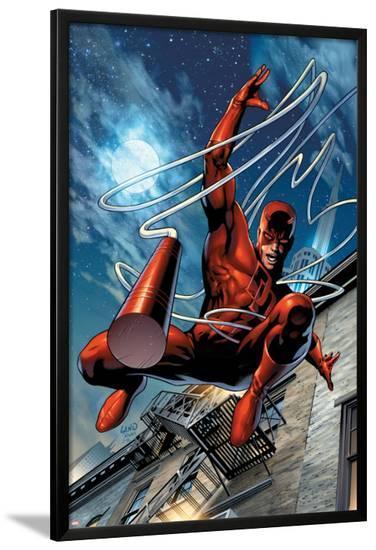 Daredevil No.65 Cover: Daredevil-Greg Land-Lamina Framed Poster