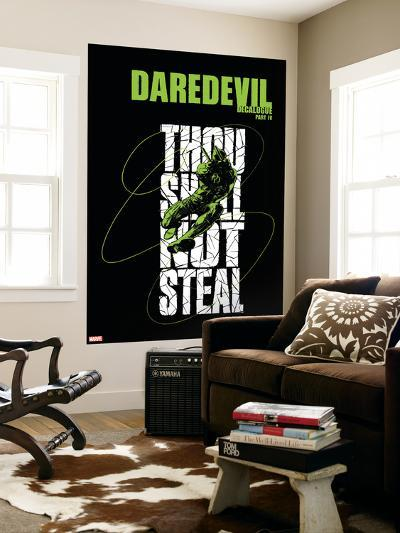 Daredevil No.74 Cover: Daredevil Jumping--Wall Mural