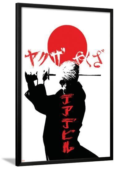Daredevil V2, No.57 Cover: Murdock and Matt-Alex Maleev-Lamina Framed Poster