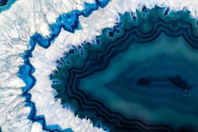 Blue Brazilian Geode by Dario Lo Presti