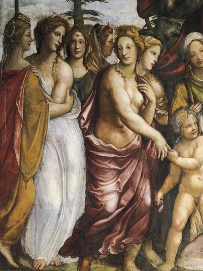 Dario's Mother Begging Alexander the Great--Giclee Print
