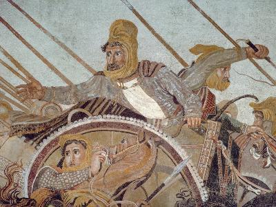 Darius Iii, from 'The Alexander Mosaic'-Roman-Giclee Print