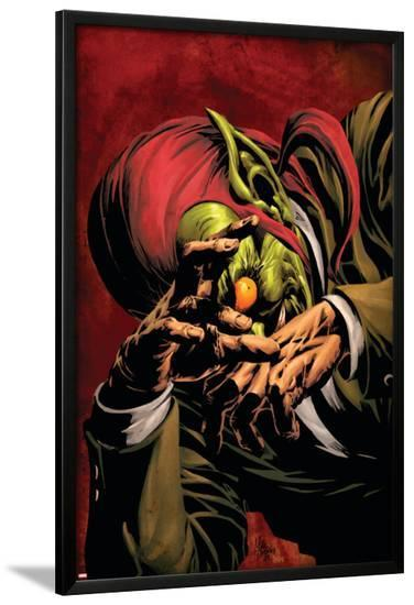 Dark Avengers No.5 Cover: Green Goblin-Mike Deodato-Lamina Framed Poster