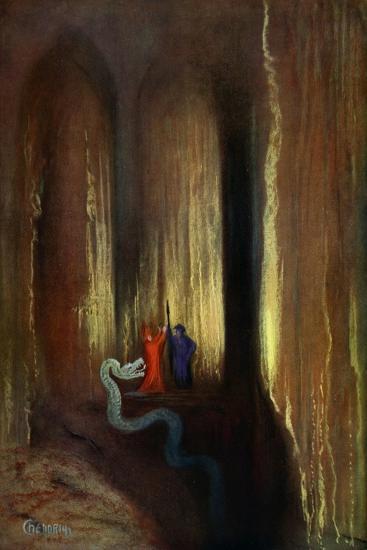 'Dark Cavern', 1906-Unknown-Giclee Print