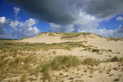 Dark Clouds over the Dune Landscape on the Big Drifting Dune at Listland-Uwe Steffens-Photographic Print
