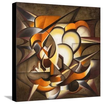 Dark Explosion-Laura Ceccarelli-Stretched Canvas Print
