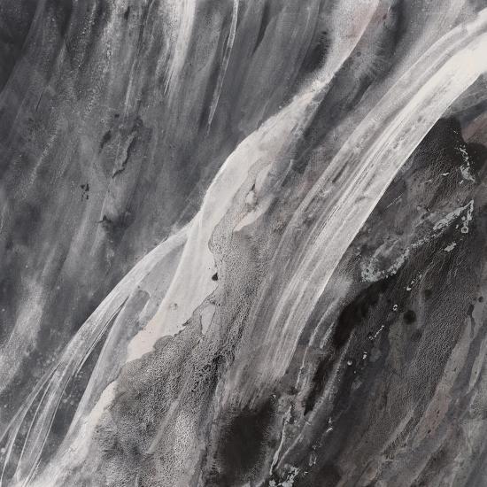 Dark Grey Splash-Albena Hristova-Art Print