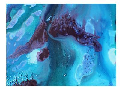 Dark Marble 2-Deb McNaughton-Art Print