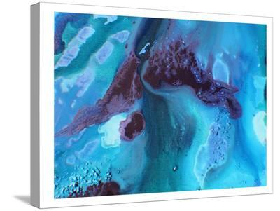 Dark Marble 2-Deb McNaughton-Stretched Canvas Print