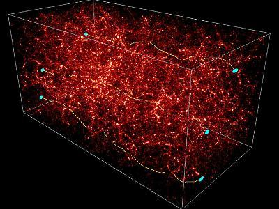 Dark Matter Map-Yannick Mellier-Photographic Print