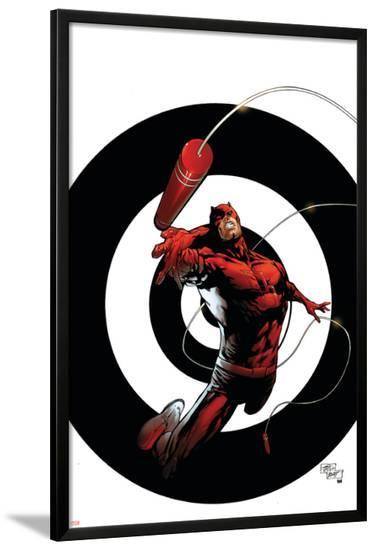 Dark Reign: The List - Daredevil No.1 Cover: Daredevil-Billy Tan-Lamina Framed Poster