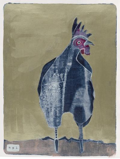 Dark Rooster 2-Maria Pietri Lalor-Giclee Print