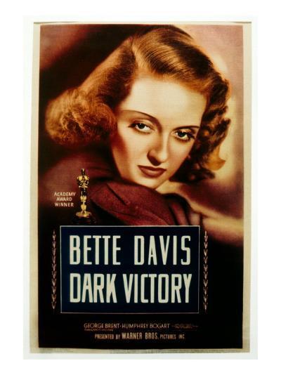 Dark Victory, Bette Davis, 1939--Photo
