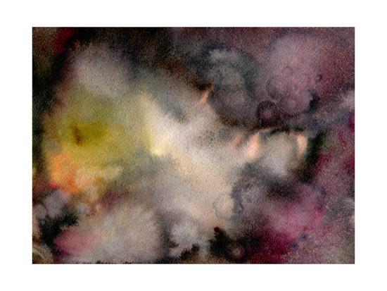 Dark Watercolor Mood-Marina Zakharova-Art Print