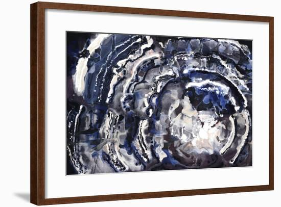Dark Waves-Kari Taylor-Framed Giclee Print