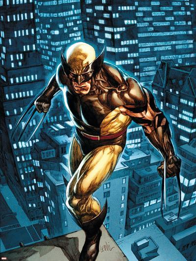 Dark Wolverine No.77 Cover: Wolverine-Leinil Francis Yu-Plastic Sign
