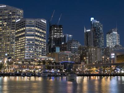 Darling Harbour, Sydney, New South Wales, Australia-Sergio Pitamitz-Photographic Print