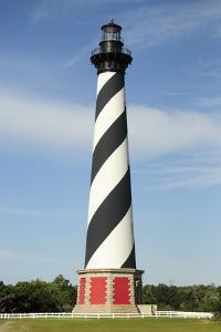 Daytime View of Cape Hatteras Lighthouse by Darlyne A^ Murawski