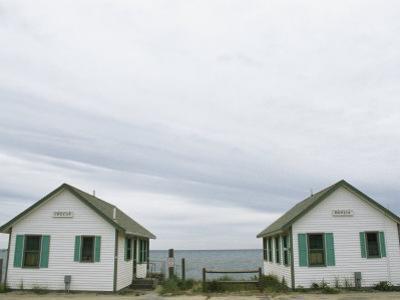 Rental Cottages Along a Cape Cod Beach by Darlyne A^ Murawski