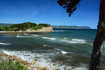 Scenic View of White Point and Aspy's Bay in Cape Breton, Nova Scotia by Darlyne A^ Murawski