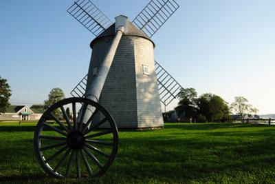 The Jonathan Young Windmill, Constructed in 1720, America's Oldest