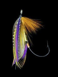 Atlantic Salmon Fly designs 'B.P.' by Darrell Gulin