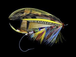 Atlantic Salmon Fly designs 'Blacker Unknown #1' by Darrell Gulin