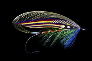 Atlantic Salmon Fly designs 'Clabby' by Darrell Gulin