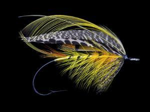 Atlantic Salmon Fly designs 'Colonel' by Darrell Gulin