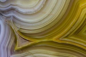 Banded Agate, Sammamish, Washington State by Darrell Gulin