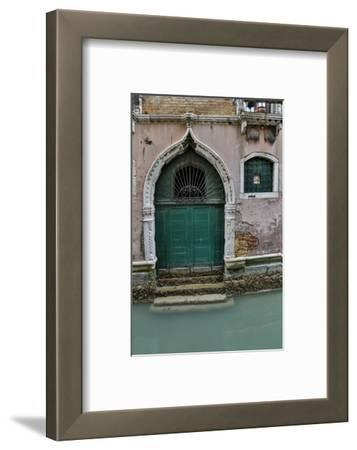 Building and Doorways Along the Many Canals of Venice, Italy