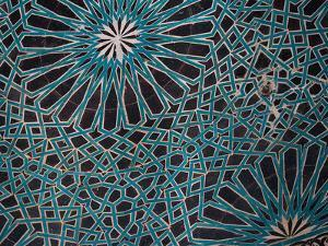 Ceiling Tile, Mevlana Museum, Konya, Turkey by Darrell Gulin