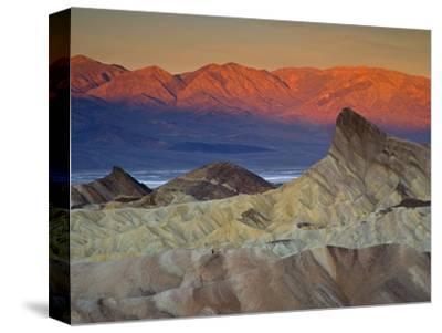 First Light on Zabriskie Point, Death Valley National Park, California, USA