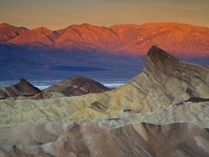 First Light on Zabriskie Point, Death Valley National Park, California, USA by Darrell Gulin