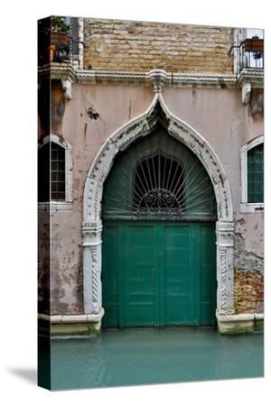 Green Doorway, Venice, Italy