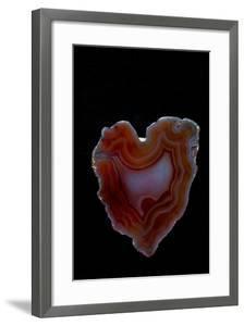 Heart Shaped Banded Agate, Quartzsite, AZ by Darrell Gulin
