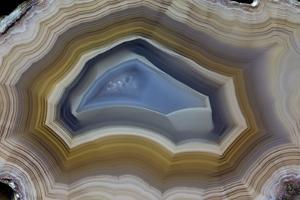 Mexican Banded Agate Quartzsite, Arizona by Darrell Gulin