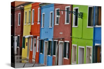 Row of Colorful Buildings Burano, Italy