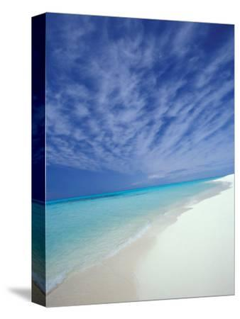 White Sands and Water of Sand Island, Midway Atoll National Wildlife Refuge, Hawaii, USA