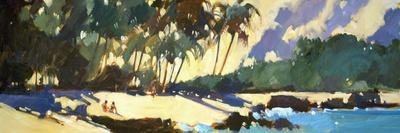 Morning Shadows on the Beach