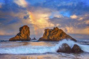 Bandon Rainbow Print by Darren White Photography