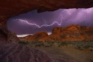 Desert Storm by Darren White Photography