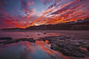 Lincoln City Fire by Darren White Photography