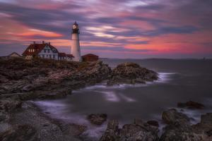 Portland Head Sunset by Darren White Photography