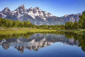 Ripples in the Tetons by Darren White Photography