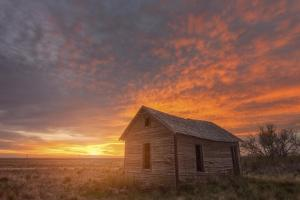 Sunset on the Prairie by Darren White Photography