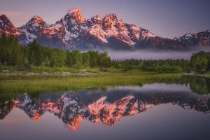 Teton Awakening by Darren White Photography